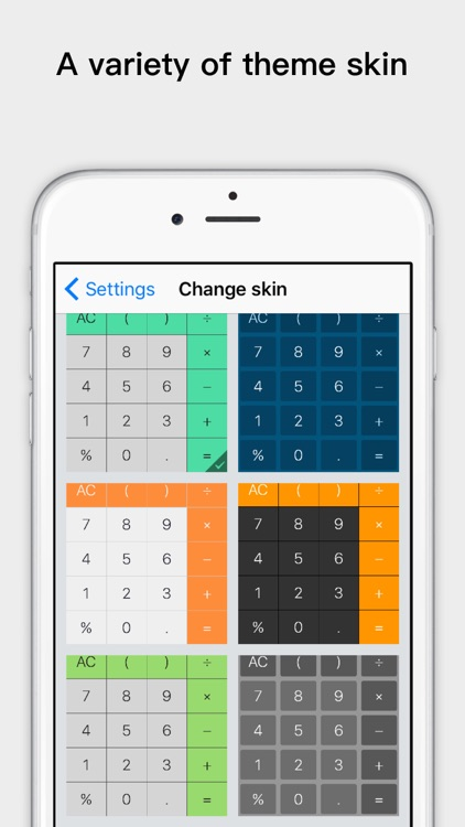 Voice calculator app