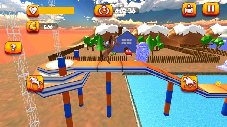 Horse Riding Stunt Simulation screenshot-3