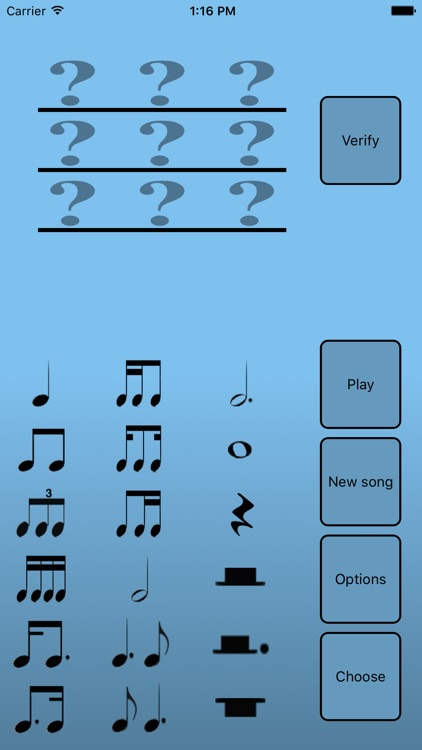 Rhythmic dictation trainer screenshot-1