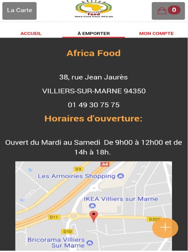 Africa Food im App Store