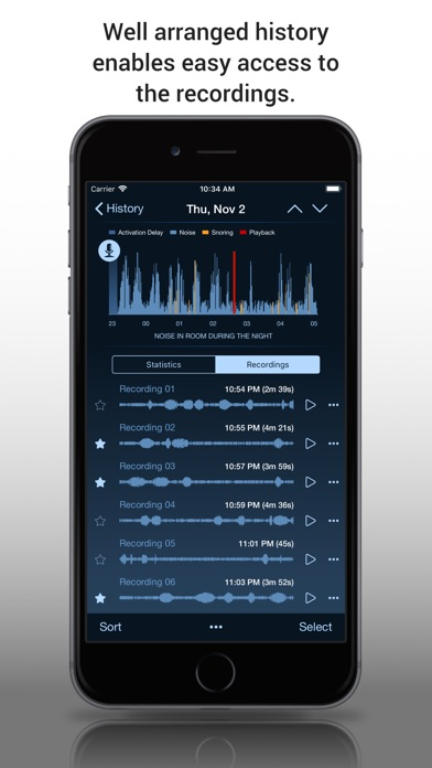 Prime Sleep Recorder Pro screenshot two