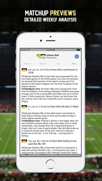 FF Lineup Dominator '17 screenshot-3