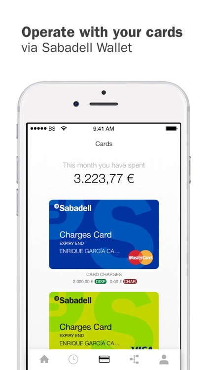 Sabadell Wallet screenshot-2