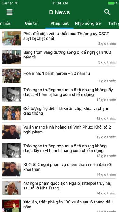 D News - Đọc báo, tin tức mới nhất 24h screenshot three