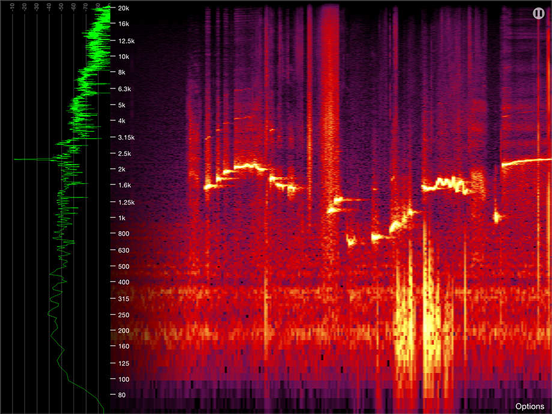 Spectrogram Pro (with super-smooth 60Hz update) | App Price Drops