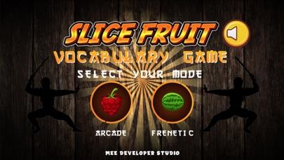 Fruit Vocabulary Ninja Puzzle