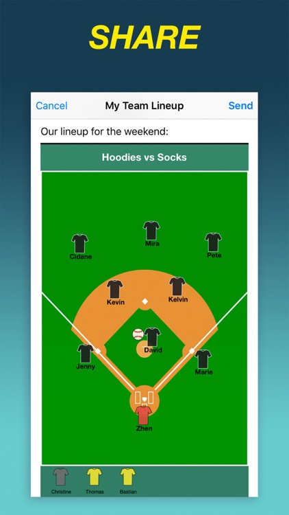 Team Lineup PRO screenshot-3