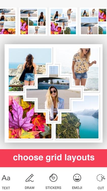 Scrapbook Photo Collage Frames