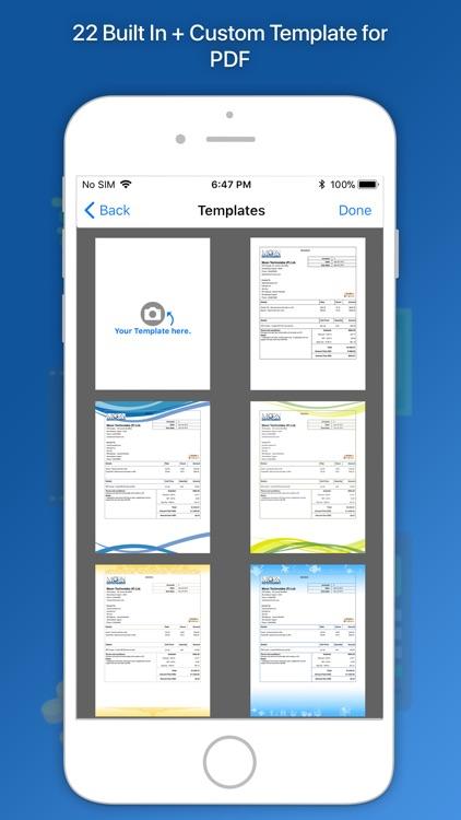 Moon Invoice Easy Invoicing By Moon Technolabs Pvt Ltd - Moon invoice