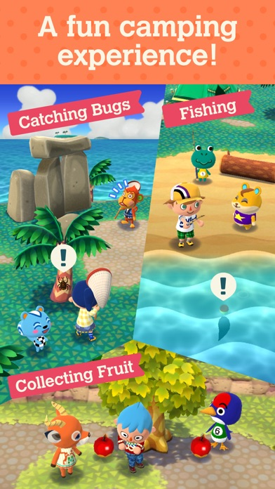 Animal Crossing: Pocket Camp Screenshots