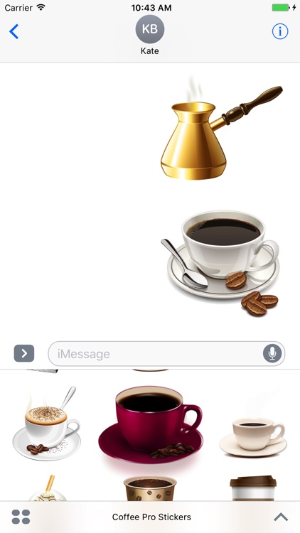 Coffee Pro Stickers