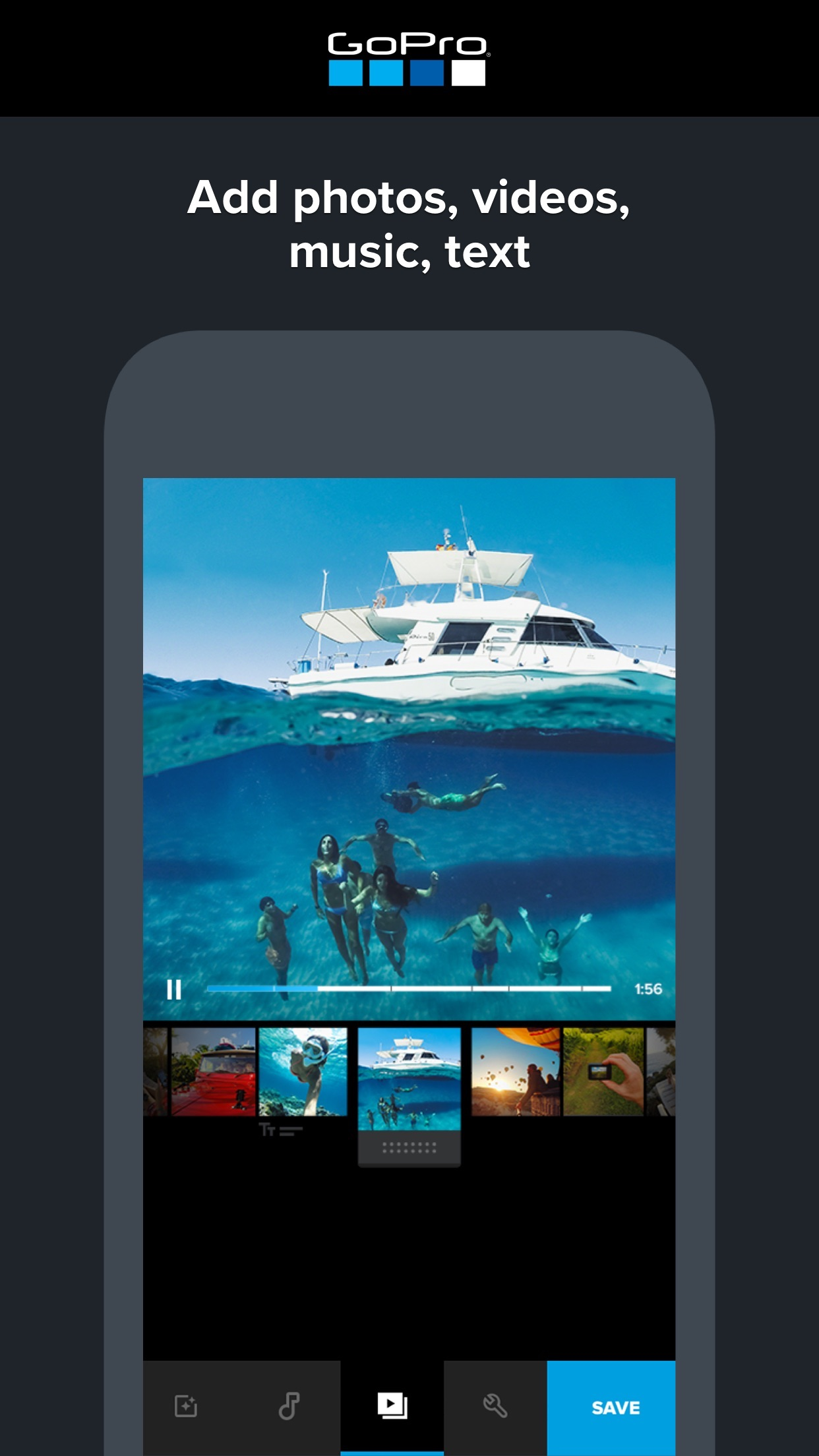 Quik - GoPro Video Editor Screenshot