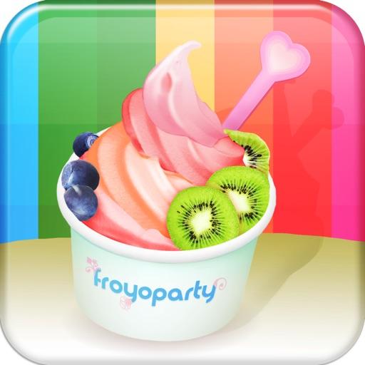 Froyo Party! FREE (Make Frozen Yogurt HD) iOS App