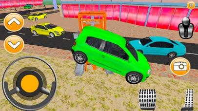 City Car Lifter Parking Game screenshot one