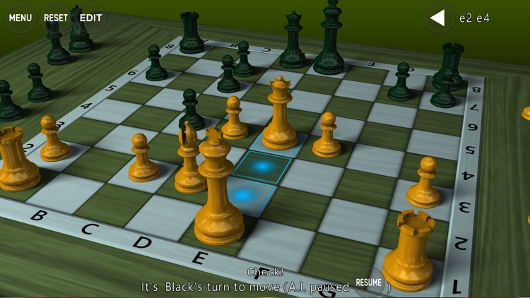 3D Chess Game