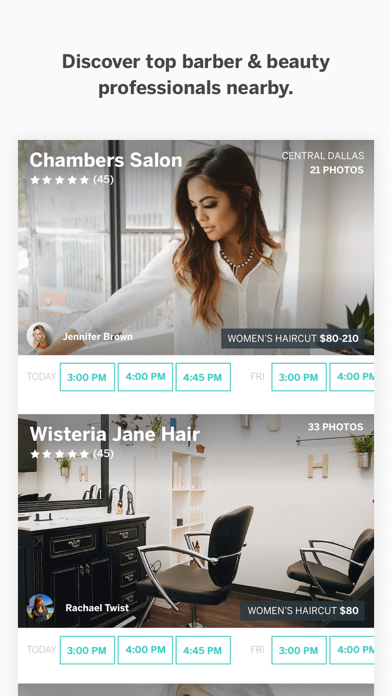 StyleSeat - Salon Appointments Screenshot