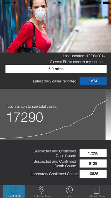 Ebola Tracker screenshot-1