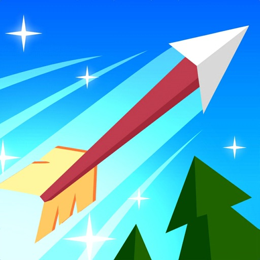Download Flying Arrow! free for iPhone, iPod and iPad