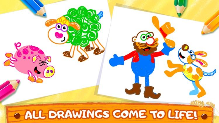 Bini Coloring & Drawing Games screenshot-3