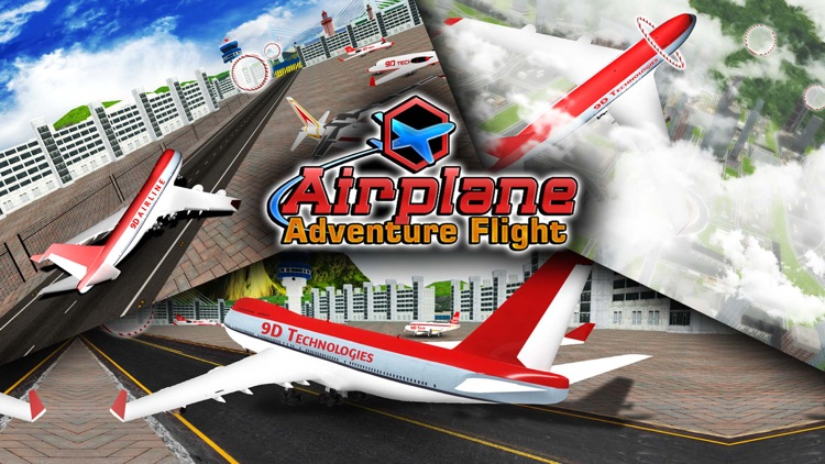 Airplane Game Adventure Flight screenshot-5