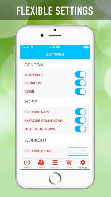 7 Minutes Workout Program screenshot-4