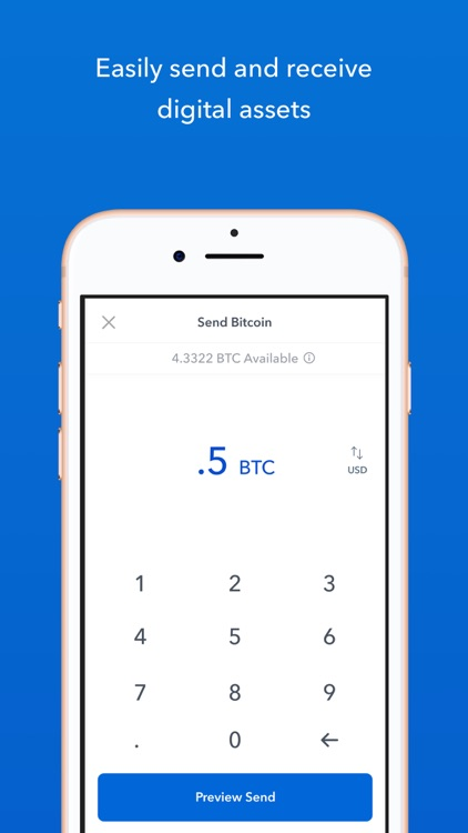 Coinbase – Buy & sell bitcoin screenshot-4