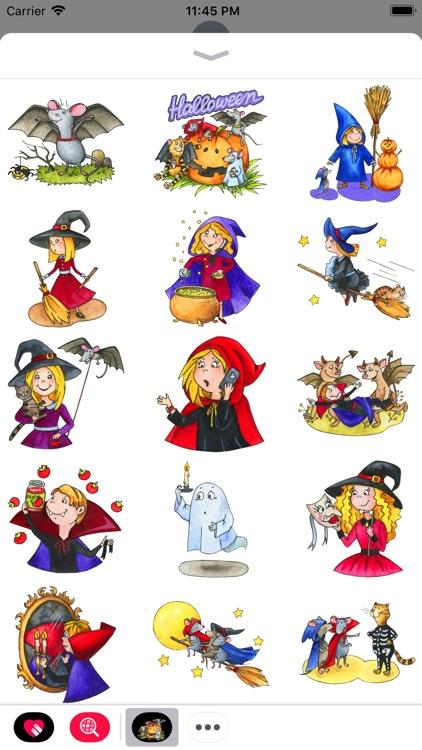 Смешные стикеры для Halloween screenshot-3