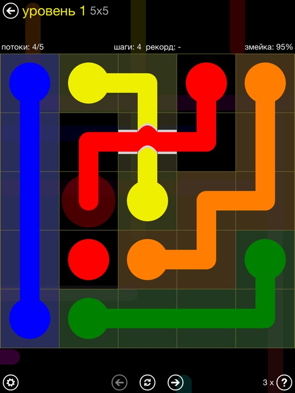 Flow Free: Bridges на iPad