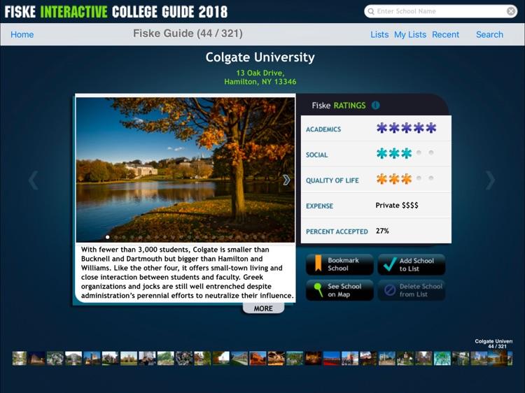 Fiske College Guide 2018