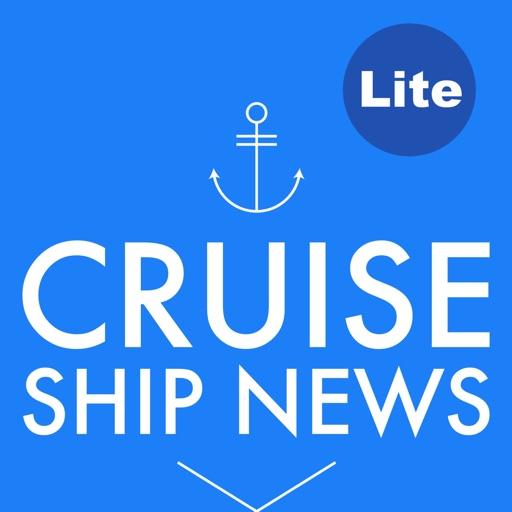 Cruise Ship & Port News Lite iOS App