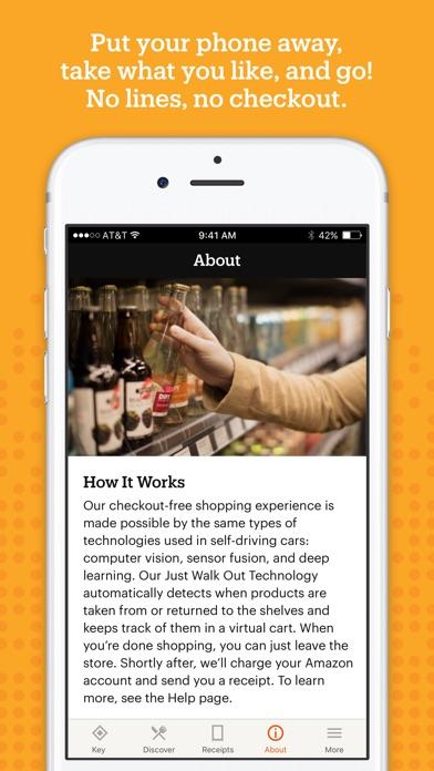 Amazon Go screenshot 2