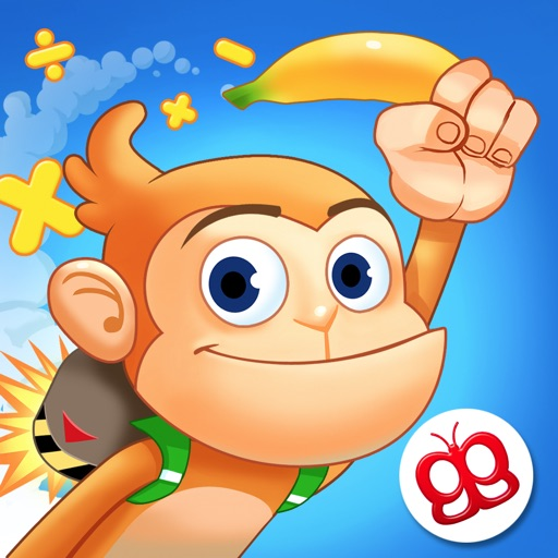 Monkey Math - Jetpack Adventure Pro