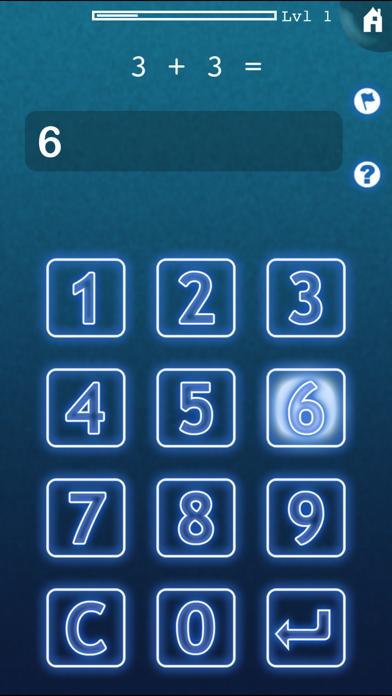 Mimir Mental Math screenshot one