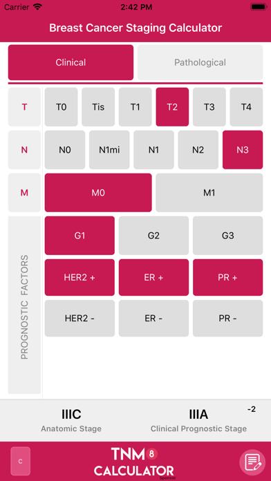 TNM8 Breast Cancer Calculatorのおすすめ画像2
