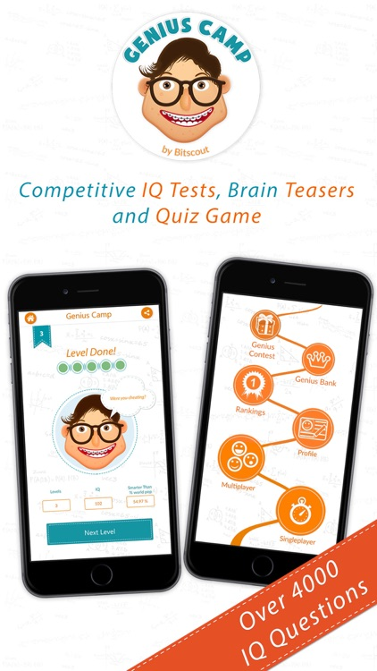 Genius Camp Quiz Contest