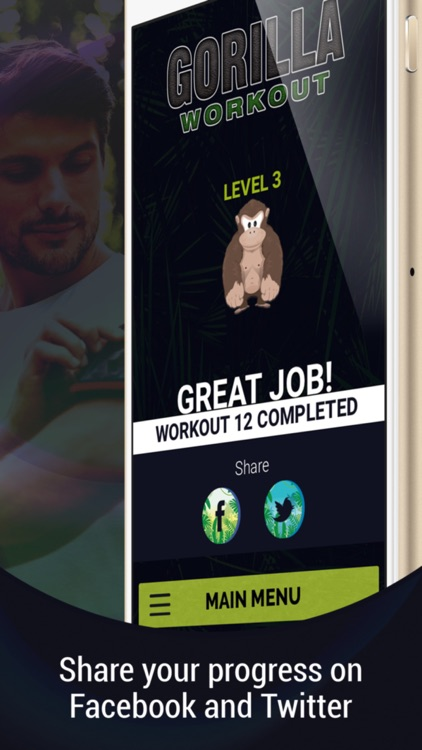 Gorilla Workout: Body Beast screenshot-3