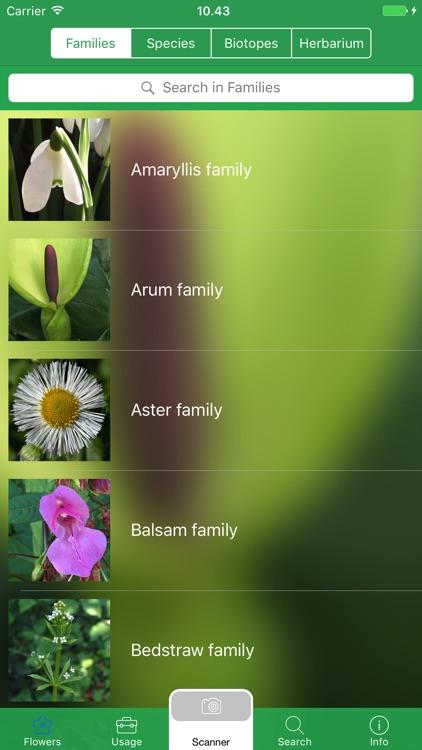 Mobile Flora - Wild Flowers screenshot-3