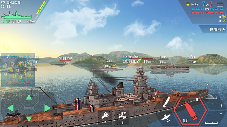 Battle of Warships: Naval Wars screenshot-3