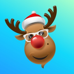 Reindeer Christmas Sticker App