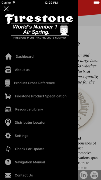 Firestone HD Air Spring App screenshot two