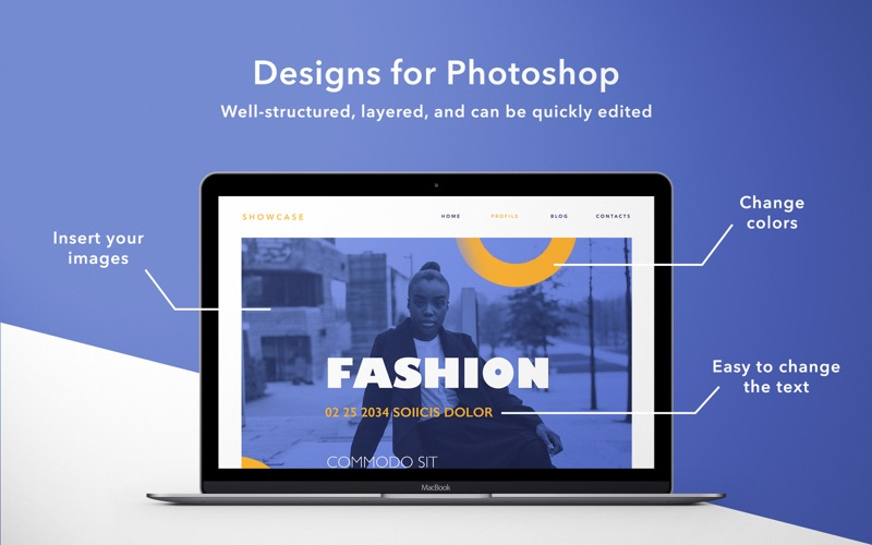 Templates for Photoshop by GN Screenshots