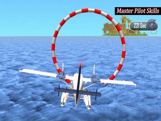 Flying Sea Stunts 3D screenshot 6