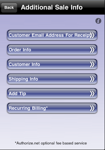 Screenshot of Leaders Credit Card Processing
