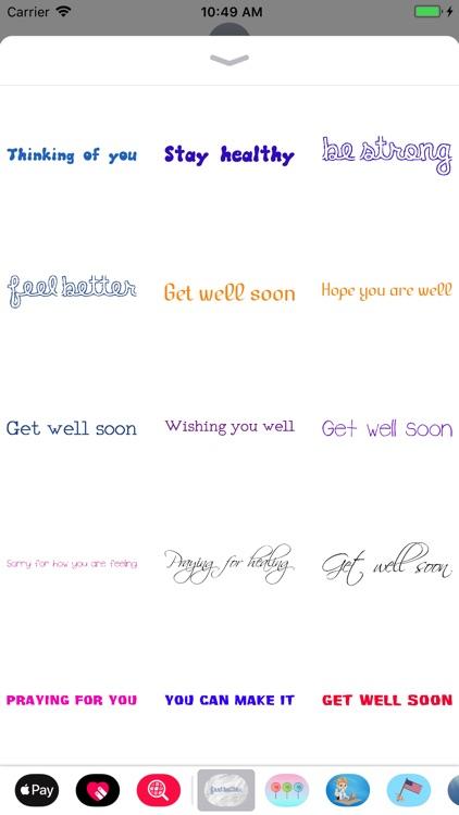 Get Well Soon Encouragements