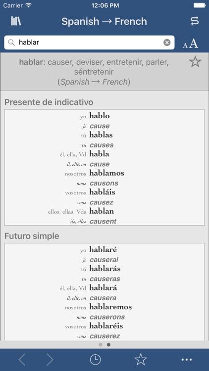 Ultralingua French-Spanish
