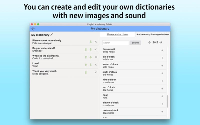 English Vocabulary Builder screenshot 5
