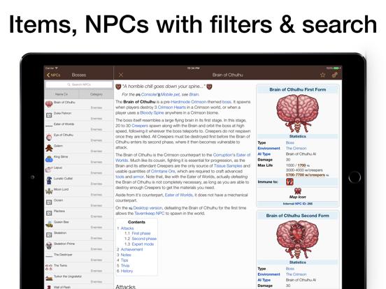 Pocket Wiki for Terraria | App Price Drops
