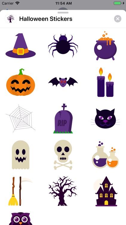 Sweet Halloween Stickers