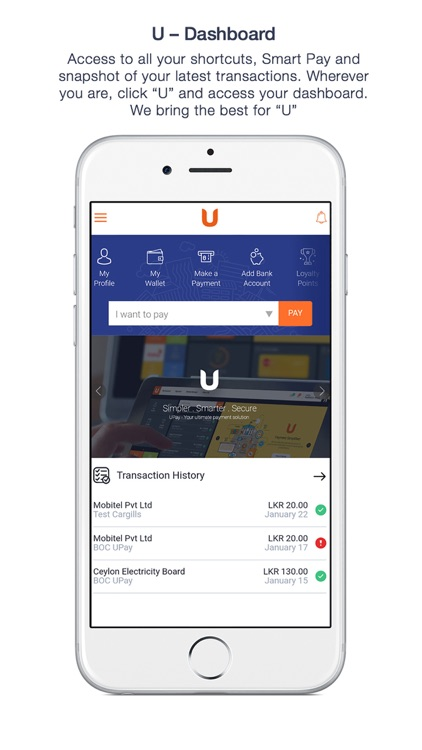 UPay Simplified Payments