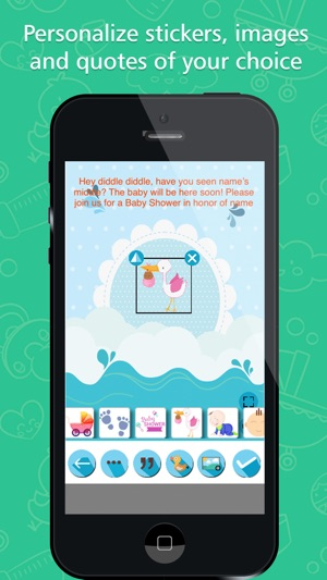 Baby shower invitation maker on the app store baby shower invitation maker on the app store stopboris Gallery